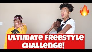 ULTIMATE FREESTYLE CHALLENGE!!! FT KING (DID HE JUST SAY THAT?!)