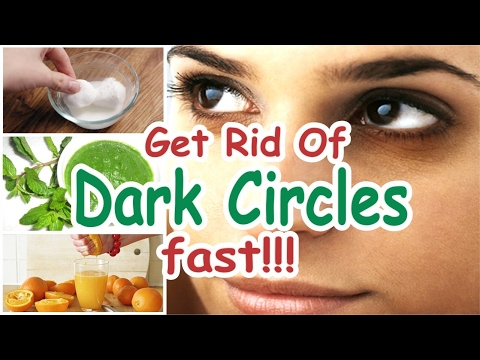 10 Easy Ways to Get Rid of Dark Circles Under Eyes - Naturally Treatment ✅