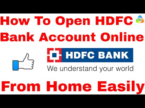 [HINDI]How To Open HDFC Bank Account Online l hdfc account opening tutorial