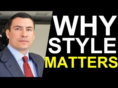 Why Dressing for Success Leads to Success | Interview with Antonio Centeno, Real Men Real Style
