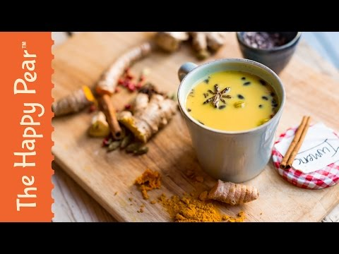 Turmeric Milk - The Happy Pear - Golden Milk