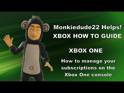 How to Change or Manage Subscriptions on Xbox One