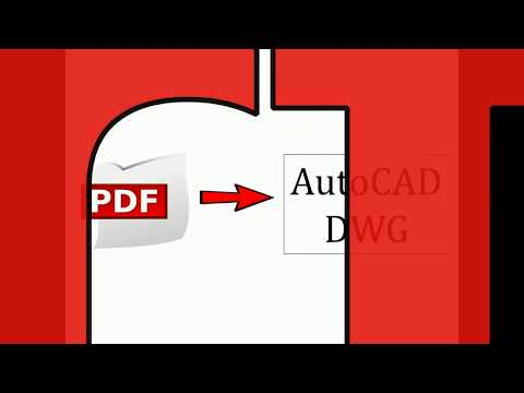 How to convert your PDF to DWG FAST!
