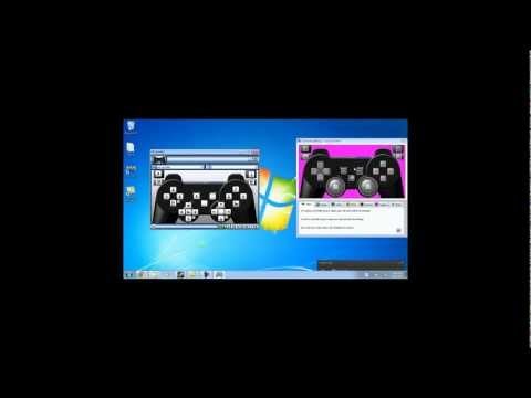 How to setup a ps3 controller to work with a pc