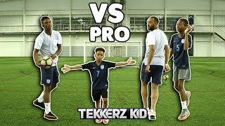 EXTREME Crossbar Challenge Vs PRO FOOTBALLERS!!