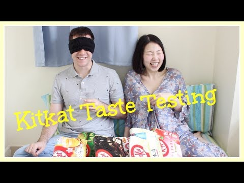 KitKat Chocolate Taste Testing #1