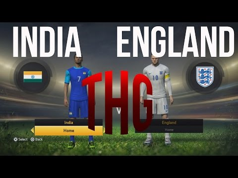 FIFA 15 INDIA vs ENGLAND - The Hindi Gamer (PS4)