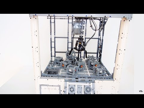 Lego Technic Claw Machine