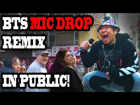 DANCING KPOP IN PUBLIC - BTS MIC DROP REMIX!!!