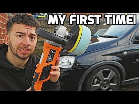 First Time Machine Polishing!