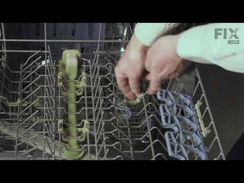 Whirlpool Dishwasher Repair - How to Replace the Tine Pivot