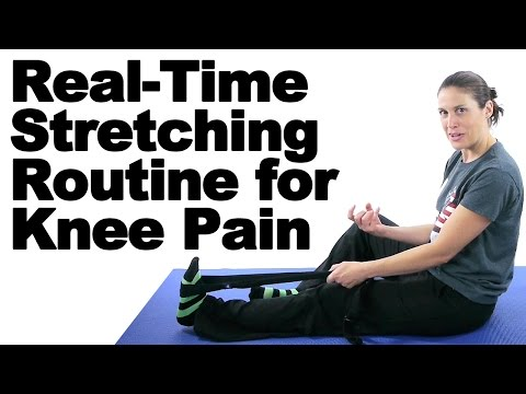 Real Time Knee Pain Stretches & Exercises - Ask Doctor Jo