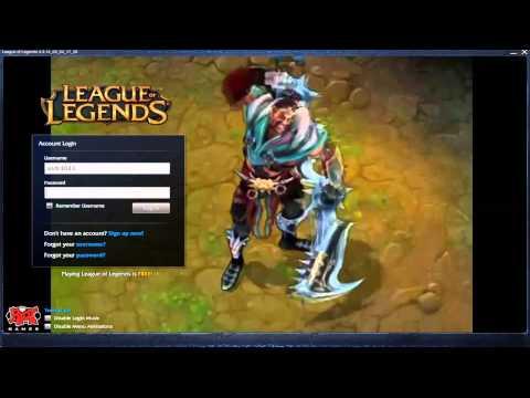 When I Am Draven - Custom Login Screen League of Legends