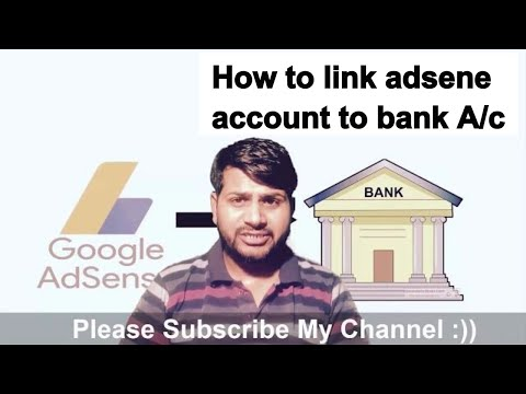 HOW TO LINK BANK ACCOUNT WITH ADSENSE |  HOW DO I WITHDRAW MONEY FROM ADSENSE?