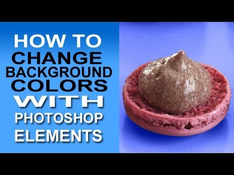 Change Background Color With Photoshop Elements. A Quick And Easy Tutorial Shows How To Do It