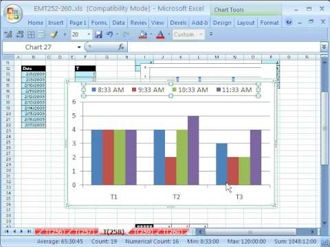 Excel Magic Trick # 258: Chart From Noncontiguous Data