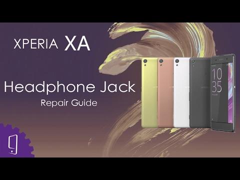 Sony Xperia XA Headphone Jack Repair Guide