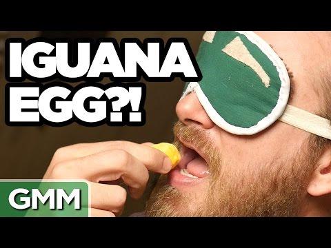 Exotic Egg Taste Test