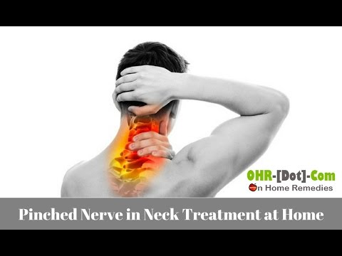 Pinched Nerve in Neck Treatment at Home