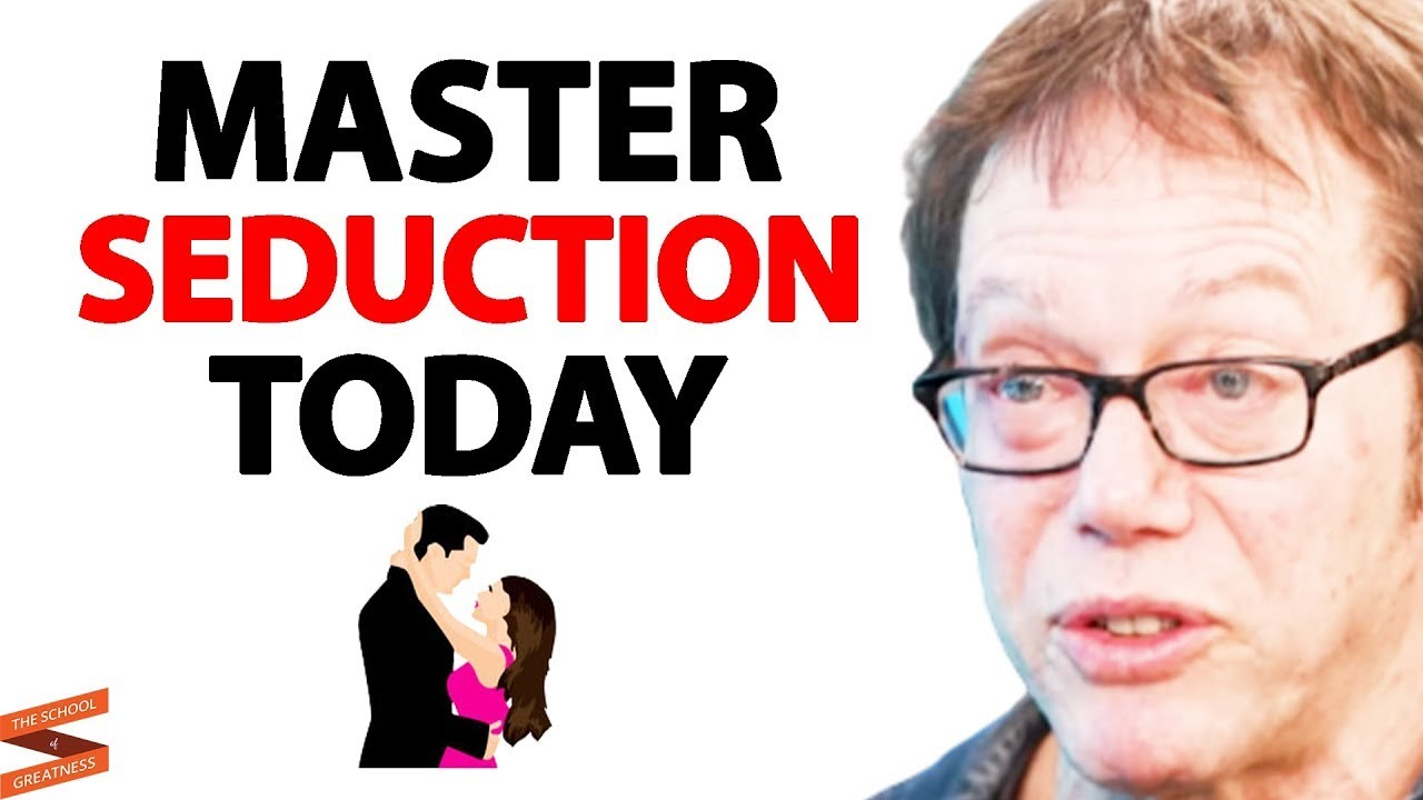 5 STEPS To Master The ART OF SEDUCTION Today!   Robert Greene & Lewis Howes