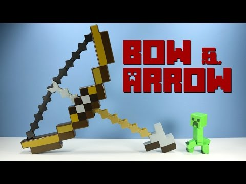 Minecraft Bow and Arrow Toy Launcher from Mattel
