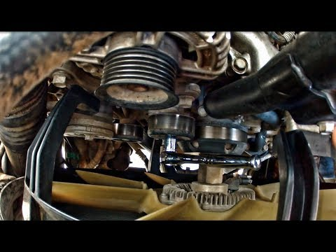 LML DURAMAX Belt, Pulleys and Tensioner Replacement/Install
