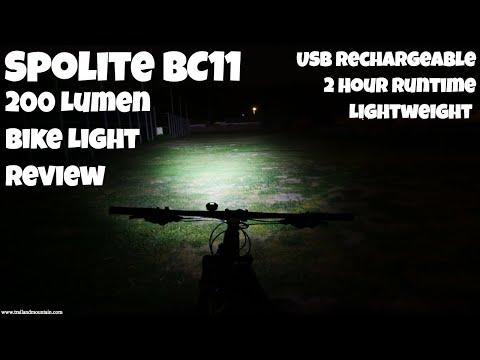 Spolite BC11 Bike Light Gear Reaview