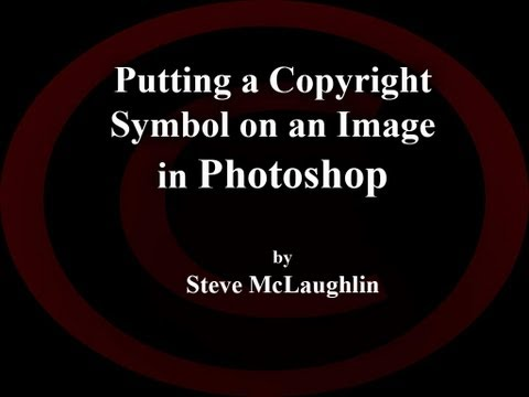 Photoshop - Copyright Symbol (NEW)