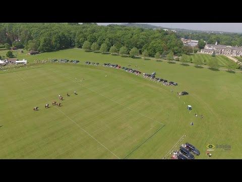 Help For Heroes Polo Aerial Film - Tidworth Polo Club