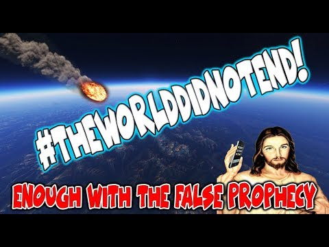September 23, 2017 The World Did Not End (PLEASE STOP THE FALSE PROPHECY PREDICTIONS)