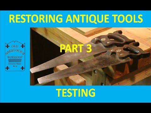 NEW METHODS TO RESTORE HANDSAWS ~ PART 3 ~ TESTING