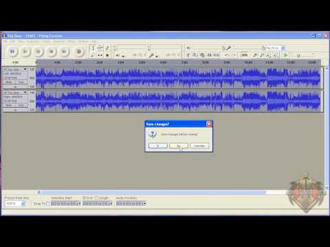 How to convert 5ch Audio into 2ch with Audacity & VirtualDub