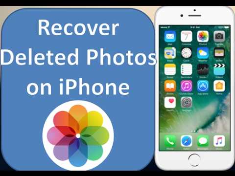 How to recover lost or deleted photos from iPhone 7/7 Plus/6S/6