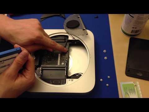 2012 Mac Mini Ram and SSD Upgrade