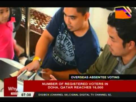 Number of registered voters in Doha, Qatar reaches 16,000