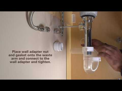 How to Install ClearTRAP Transparent P-Trap by PF WaterWorks