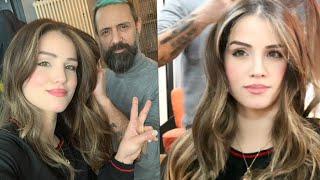 غيرت شعري من البني إلى الأشقر الزيتي 😍 تغير شكلي تمامًا 🙄