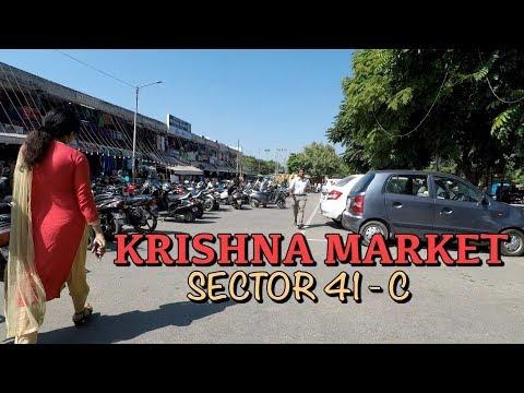 Krishna Market Sector 41 Chandigarh