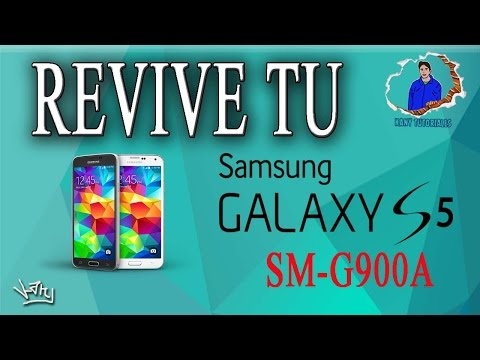 REVIVE TU SAMSUNG GALAXY S5 (SM-G900A) AT&T MEDIANTE ODIN/FIRMWARE LOLLIPOP 5.1.1