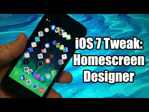 iOS 7 Jailbreak Tweaks: HomescreenDesigner