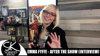 Emma Fyffe talks Schmoes after the show! (Interview)