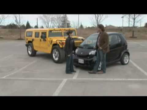 The New Driver's Seat - Smart Car vs. Hummer