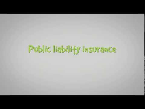What's public liability insurance?