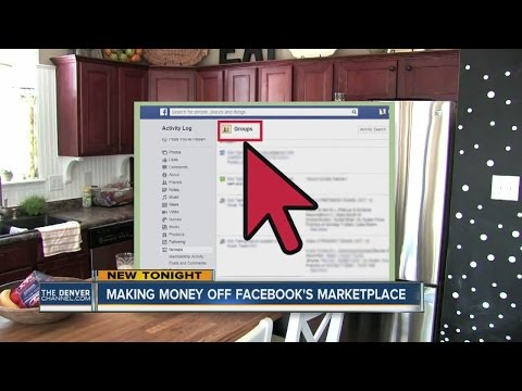 Making money off Facebook's Marketplace