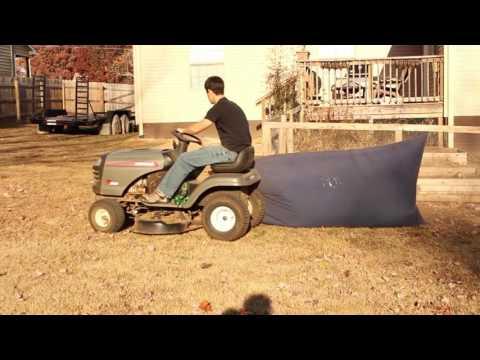 DIY Mower Leaf Catcher under $80
