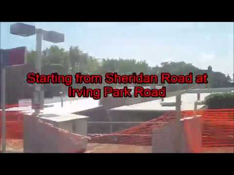CTA Red Line train from Lake Street to Howard Street terminal Part 2