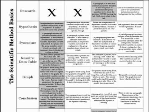 lab report rubric tips
