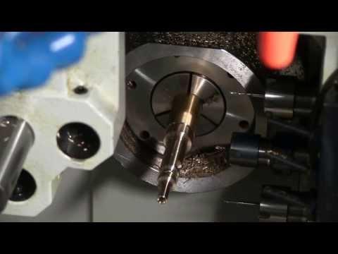 Swiss CNC AR-15 Bolt Demo made on a Swistek AB42 complete