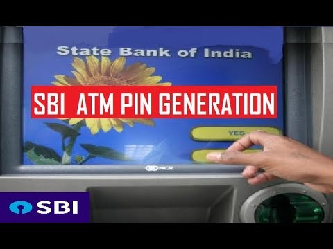 SBI ATM PIN GENERATION through SBI ATM