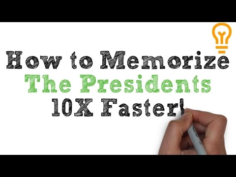 How to Memorize the Presidents Easily